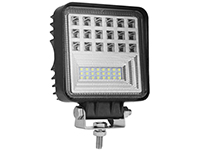126w square LED work light